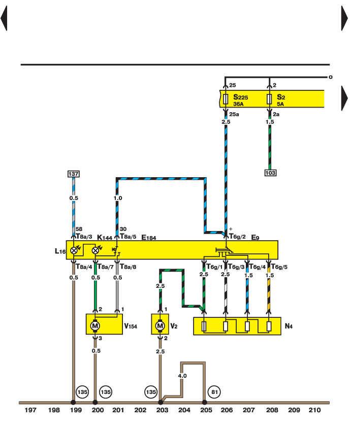 Электросхема - Переключатель и