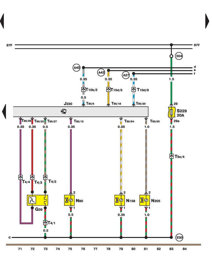 Электросхема - Датчик