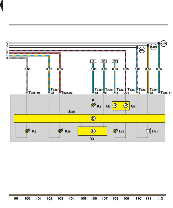 Электросхема - Контрольные